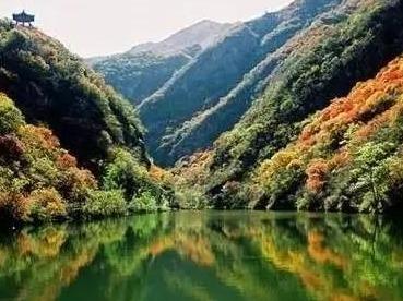 周六赏秋 双龙峡 京西九寨沟-人间氧吧