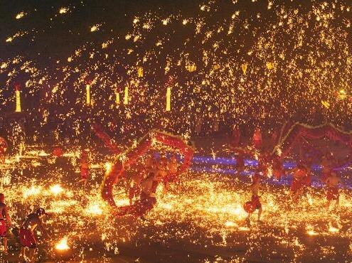 春节·龙灯会