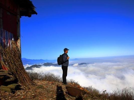 周六徒步 天台山 登山耍雪1日游 含午餐