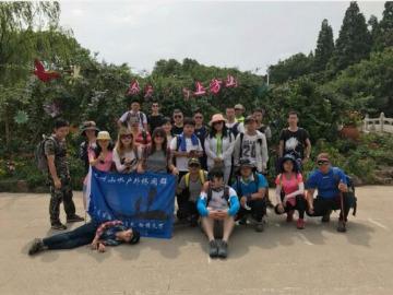 苏州山水户外9月3日阳树休闲爬