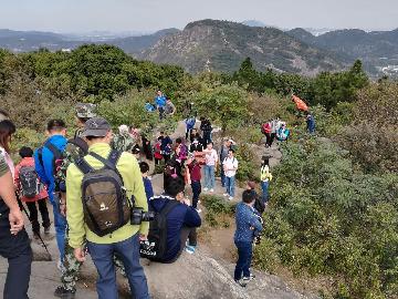 苏州山水户外11月19日灵树线拉练爬山