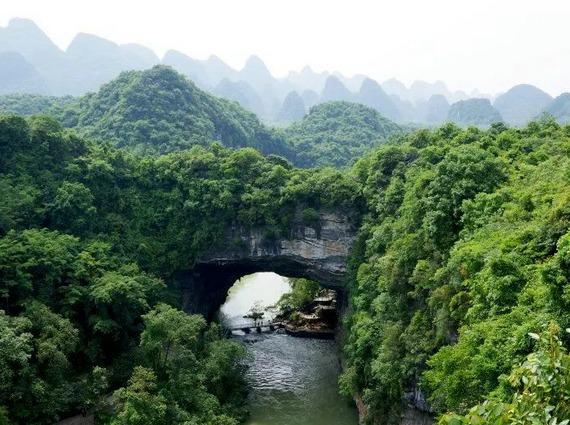 3月24日鹿寨响水-香桥徒步穿越