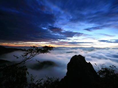 5月29日 新昌天姥山(北斗尖)~沃州湖