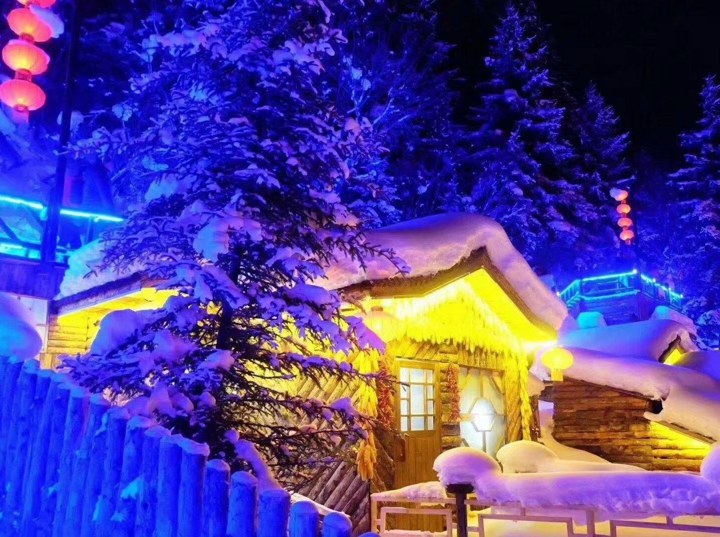 津途部落-东北雪乡-冰雪世界-寻找奇缘