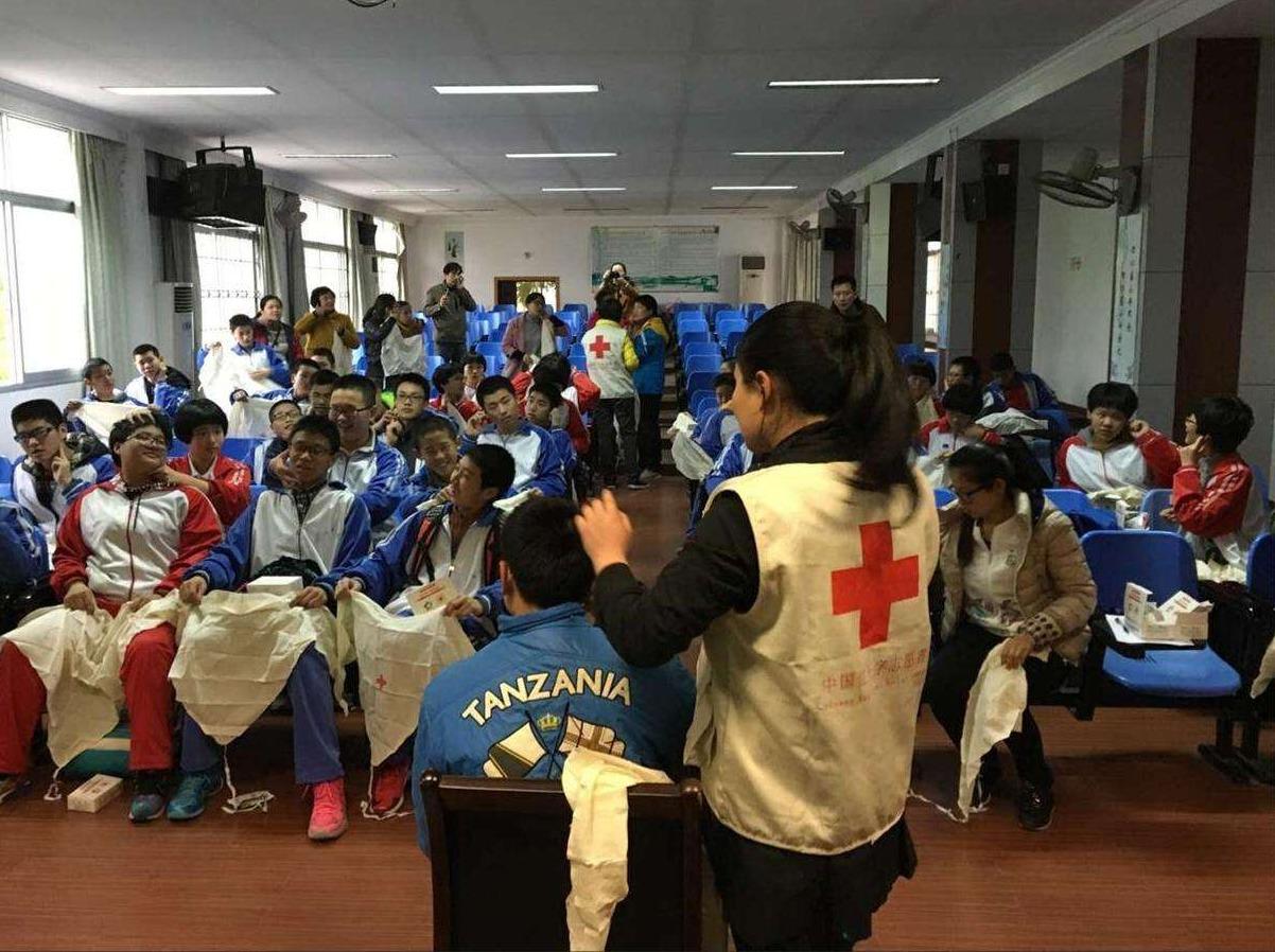 第16期4.20上海红会急救培训