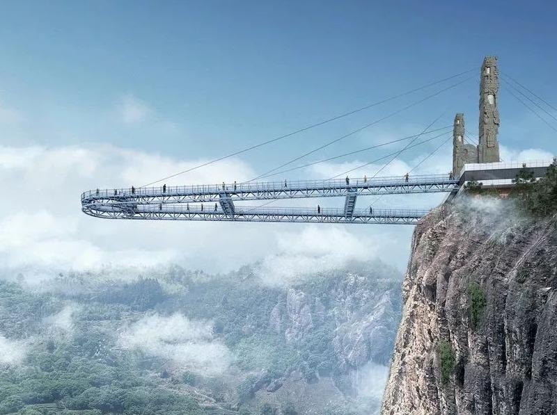 5.2-5.3体验高空走廊+玻璃桥