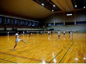 六安户外羽毛球活动