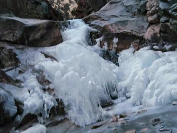 1月6日(周六)7日(周日)六道坝冰河游