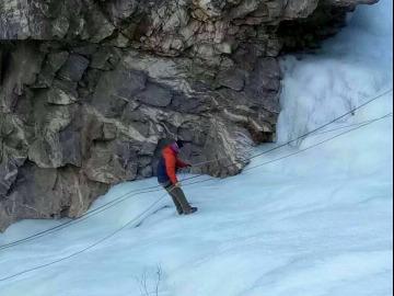1月14日(周日)羊海子沟冰降休闲一日游