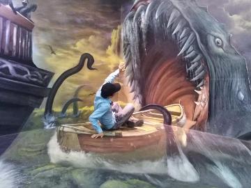 5D涂鸦墙艺术摄影活动