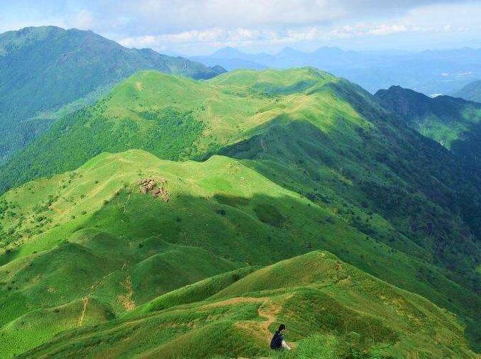 9月16号惠东大南山 看高山草甸