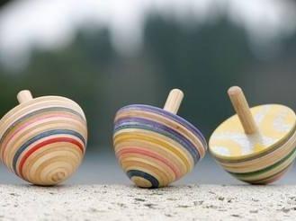 「创意陀螺」- 童年的可爱小玩具