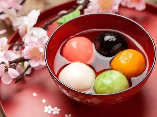 「汤圆」- 锅里的小可爱浮元子