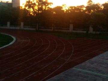 乐罗中学健康跑