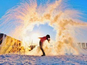 2月旅行活动东北漠河雪乡雾凇岛之行
