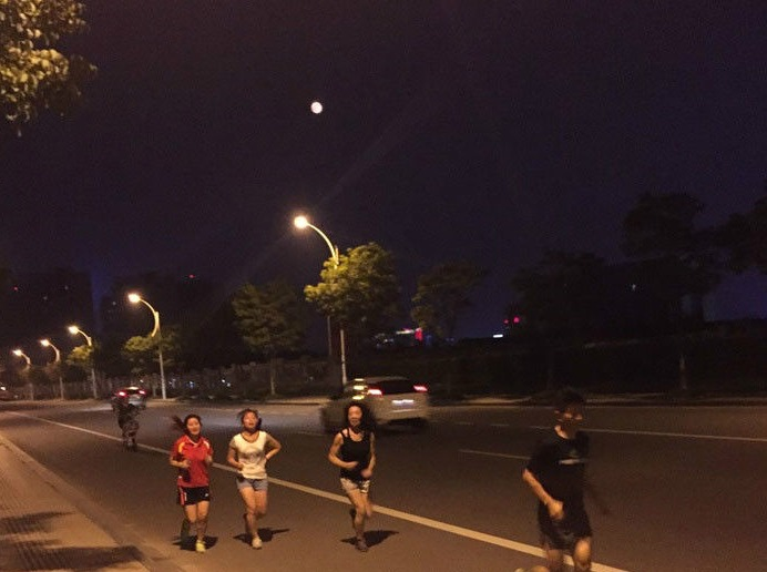 夜跑开跑 一起出发
