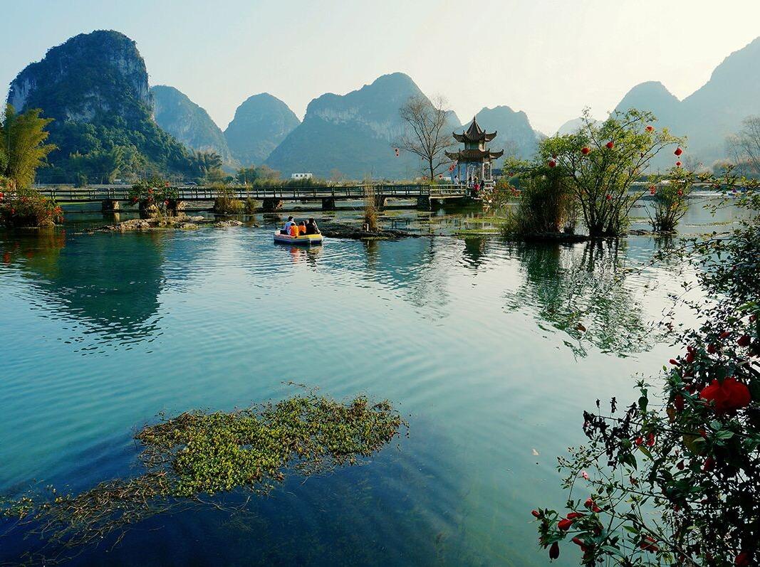 12月2-3号靖西鹅泉、渠洋湖两日游