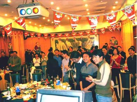 吉林大型青年年前大聚会