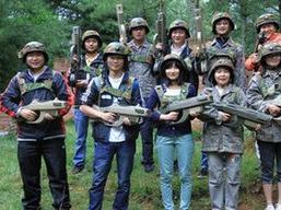 宿州真人CS团队对抗赛活动