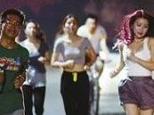 夜跑南滨路——青春正能量!运动健康!