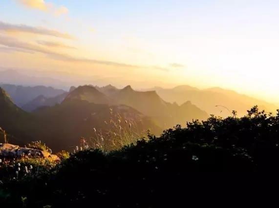 9月13日 勇攀光头山, 纵览群峰