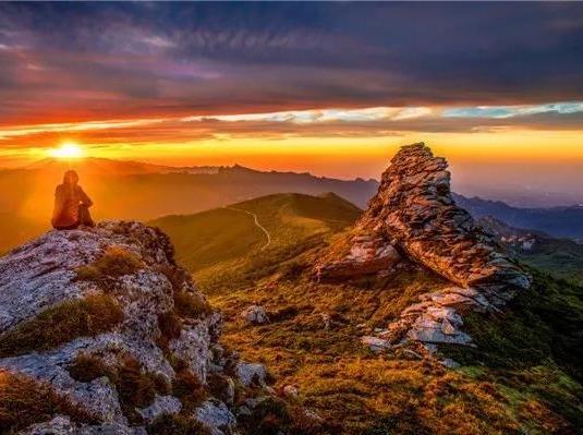 10月3日 勇攀光头山, 纵览群峰