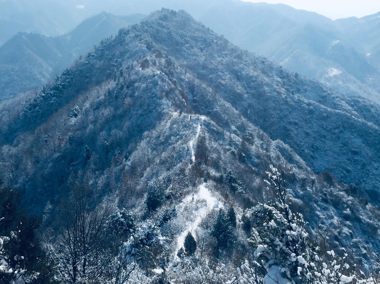 2月16日踏雪五道梁,问道金仙观