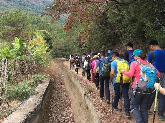 3月9号登增城牛牯嶂 观碧湖赏奇峰