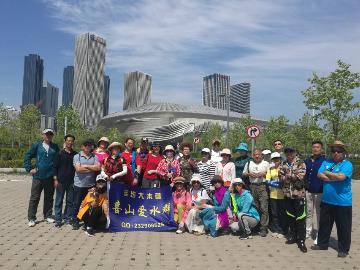 6月8日从白云雁水徒步到动物园南门
