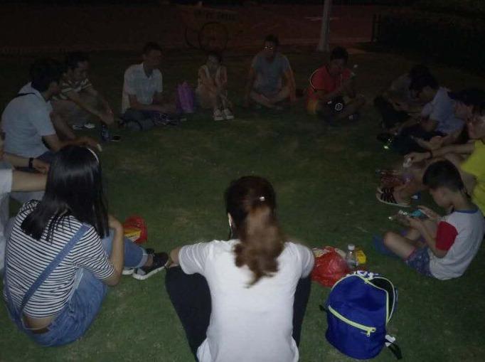 9月19红树林徒步玩游戏