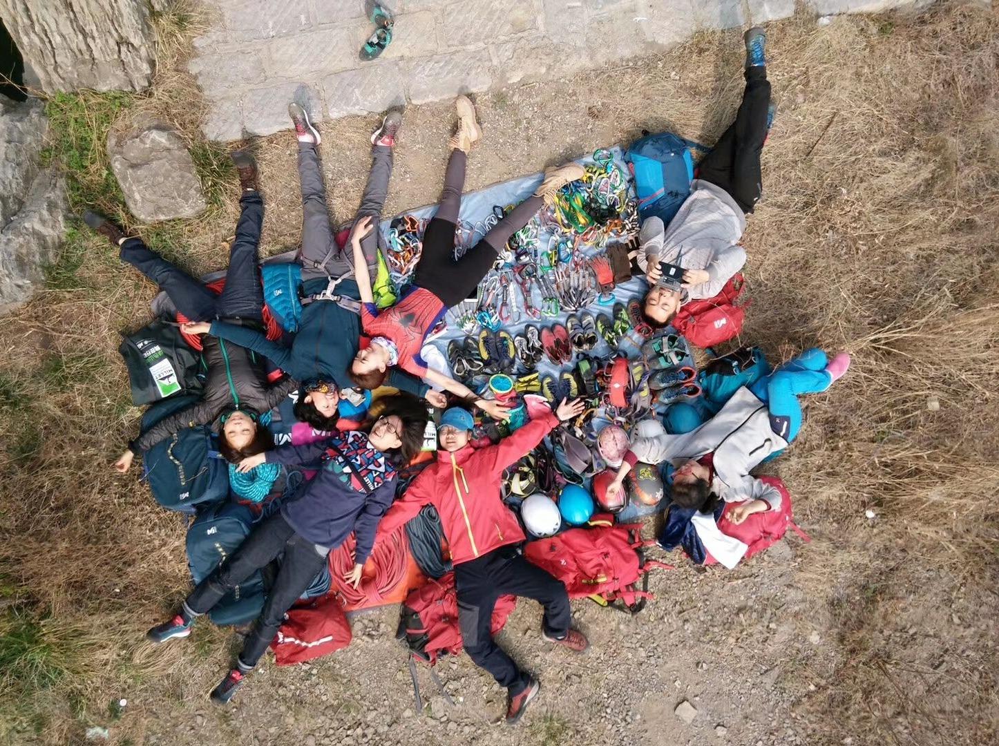 4月14日 登封攀岩 崖降一天