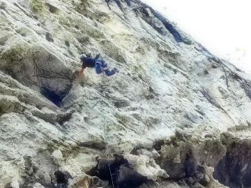 4月21日 登封攀岩 崖降一天
