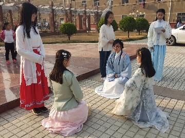 戊戌年聊城汉服同袍花朝节传统民俗雅集活动