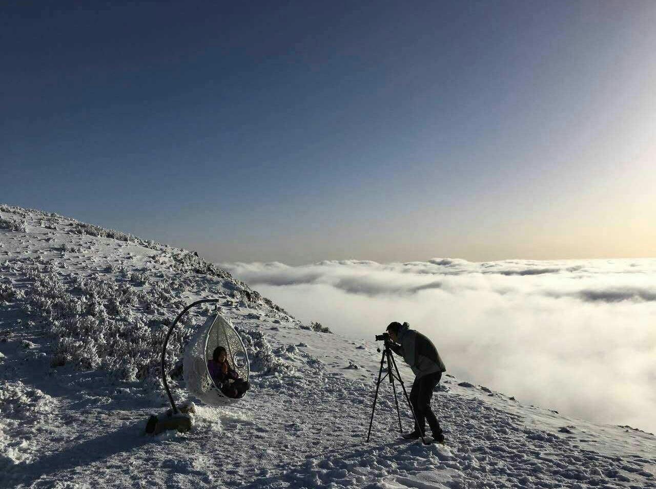 红岩顶   徒步露营 云海日出 2日游