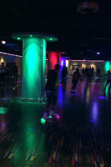 风影轮滑台球俱乐部大年夜聚餐