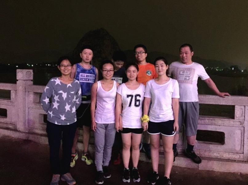 8.1周二寿桃湖徒步5KM+恢复性训练!