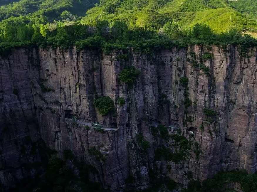 10月1-3日徒步摄影两省三大挂壁公路