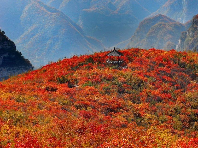 10月28-29日第二期靳家岭青天河活动