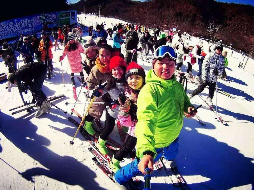 洛阳木扎岭速龙滑雪场一日游
