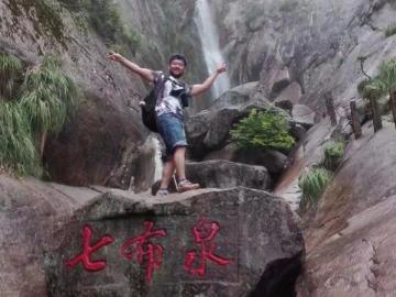 10月29号登天华峰攀九子岩