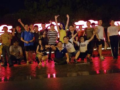 8月26号夜爬灵焦山