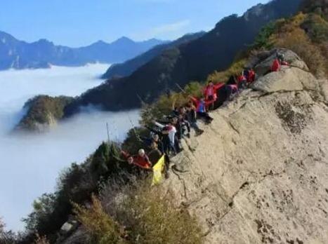 5月25日登顶嘉午台龙脊赏小华山美景