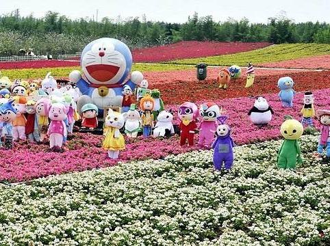 3月11日感受花海世界百万葵园赏花