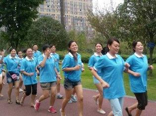一起去九江学院跑步吧