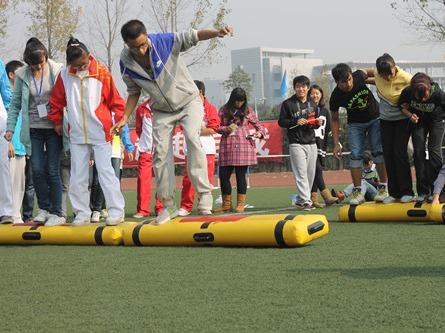 牡丹江万达广场—趣味团队配合赛(第二期)