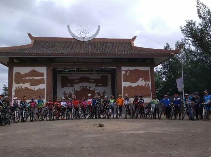 2018年9月1日:骑行小水井村