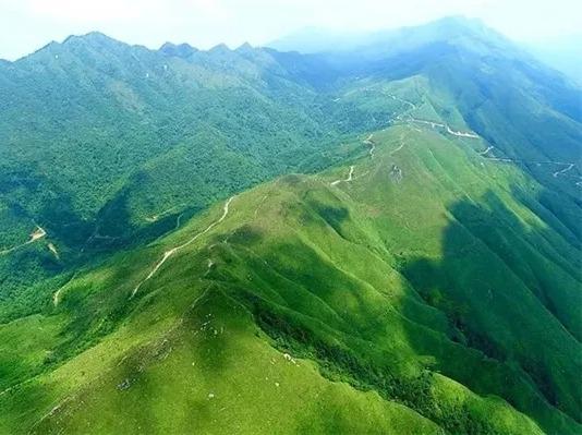 5月3号登广东顶级山脊路线莫六公!