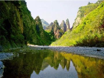 6月11号约您走进焦作静影大峡谷戏水游玩