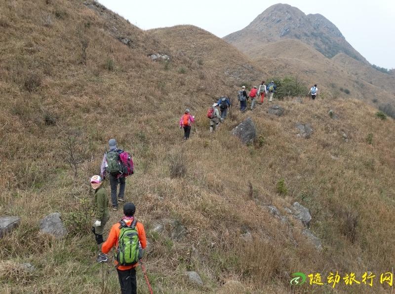 4月15号挑战广东K2尽赏韶关龙斗峰