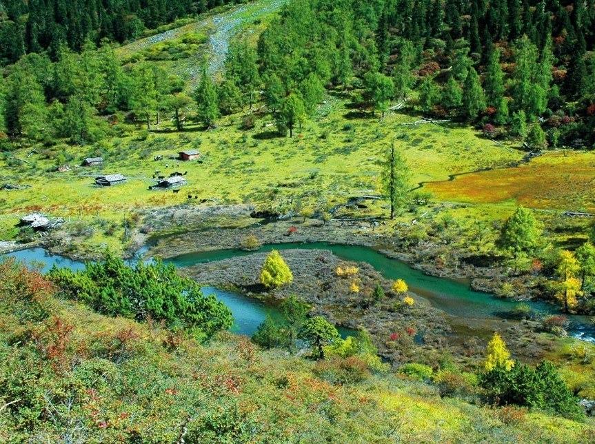 端午 玛嘉沟2天半走进最原始的川西秘境